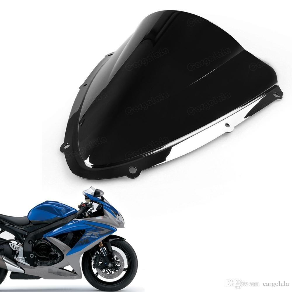 For Suzuki GSXR600//750 K8 2008 2009 2010 Windshield Windscreen Clear ABS Plastic