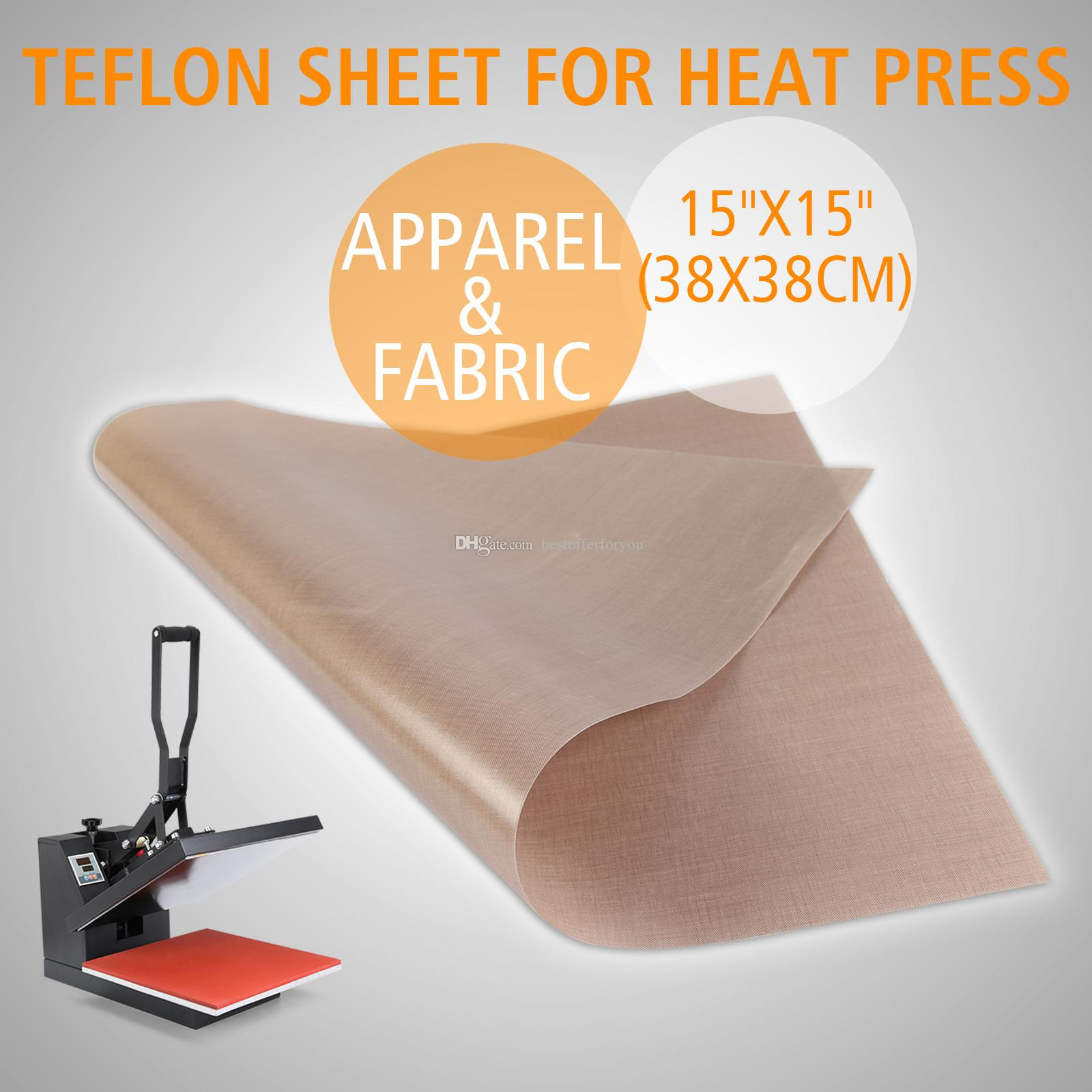 Set of 3 Teflonsheet For 15x15 Heat Press machine reusable Craft Sheet non stick