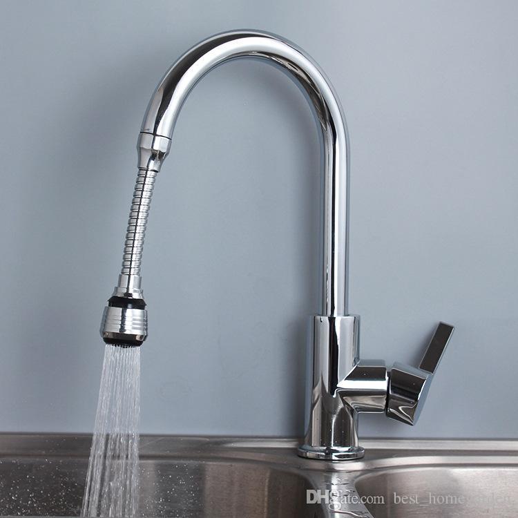 Kitchen Turbo 360° Flexible Sink Faucet Sprayer Jet Stream Faucet Extension Best