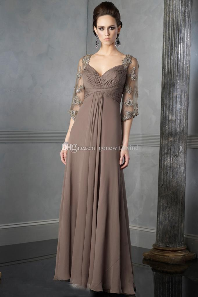 Simple Mother of Bride Dresses