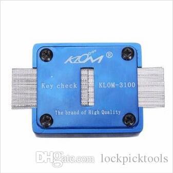 KLOM-3100 Outils de corrélation de duplication de clés de vérification de rainure de clavette