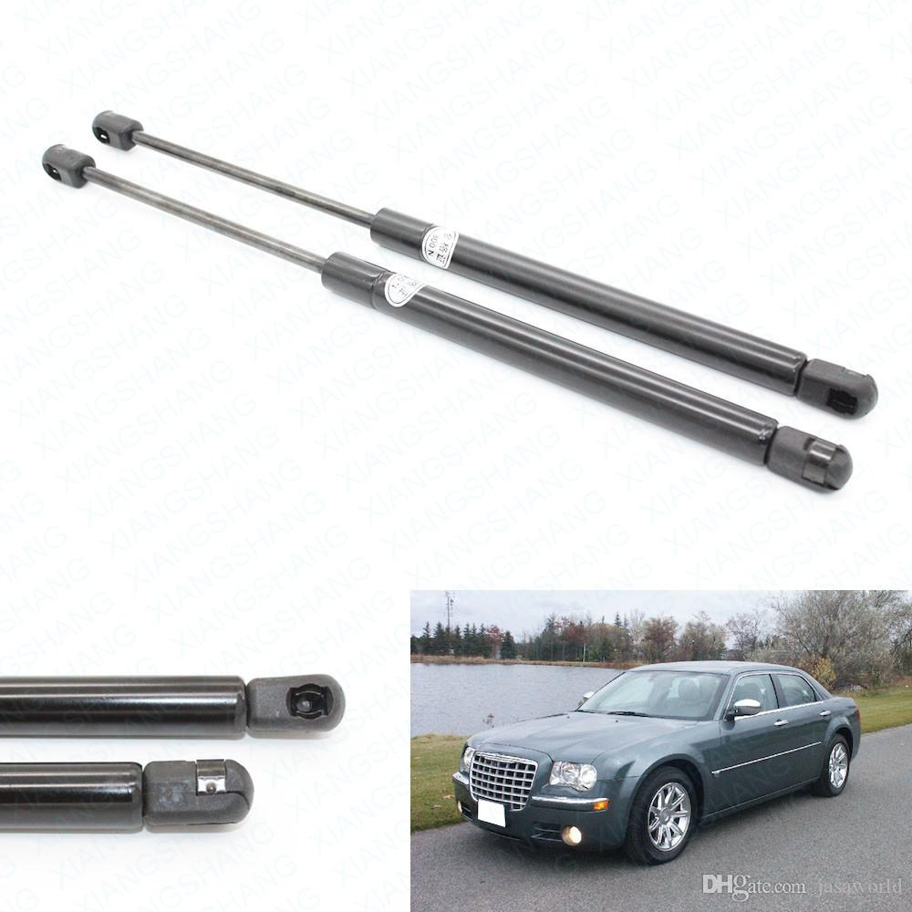 2pcs / set Fits per il 2005 2006 2007 2008 Chrysler 300 Tronco molla a gas di sollevamento Supporta Struts Prop Rod Braccio Ammortizzatori