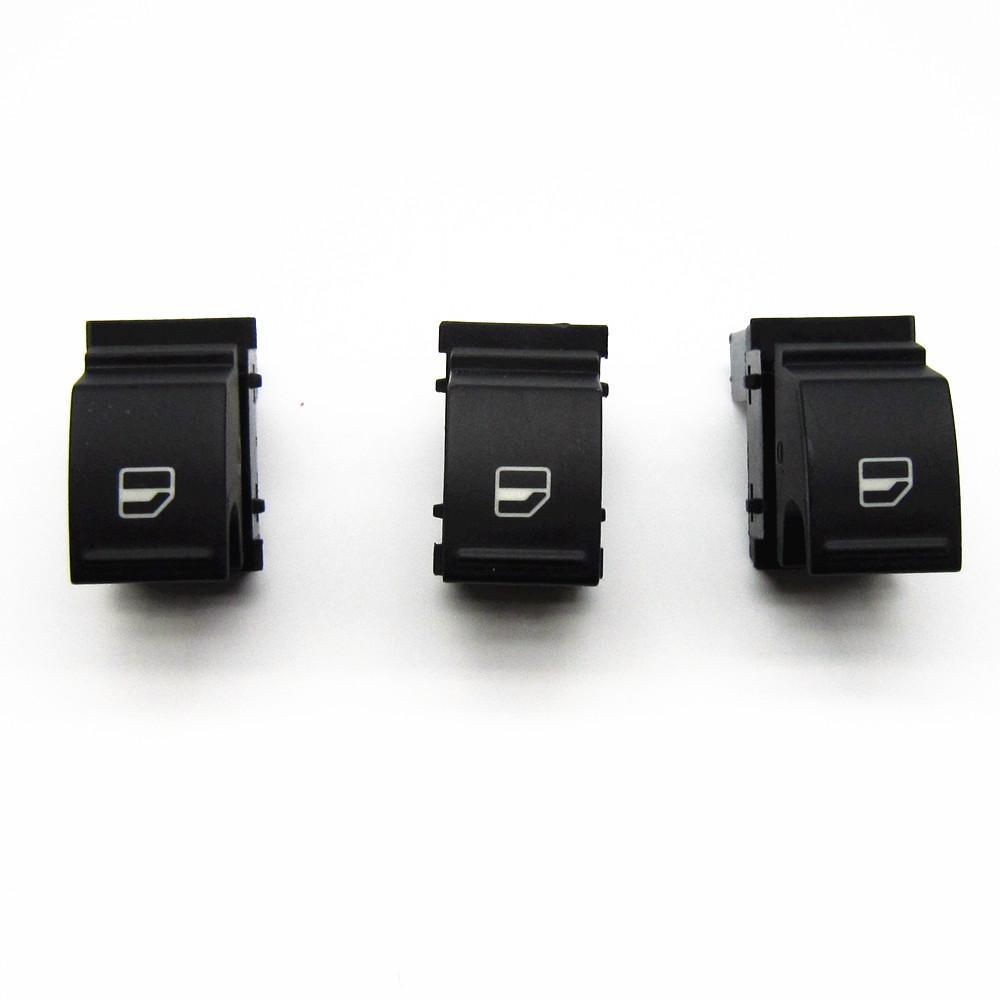 3 Pcs Livraison gratuite de haute qualité OE 7L6 959 855B L'interrupteur de lève-vitre passagers pour VW Passat B6 Golf A5 Touran Sagitar Magotan Jetta Ca