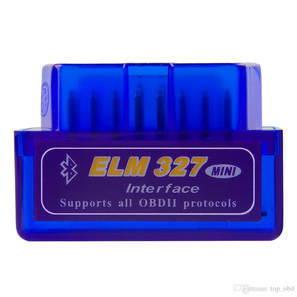 Leitor de diagnóstico obd para carro scanner automotivo Mini V2.1 ELM327 OBD2 ELM 327 Interface Bluetooth Auto Car Scanner