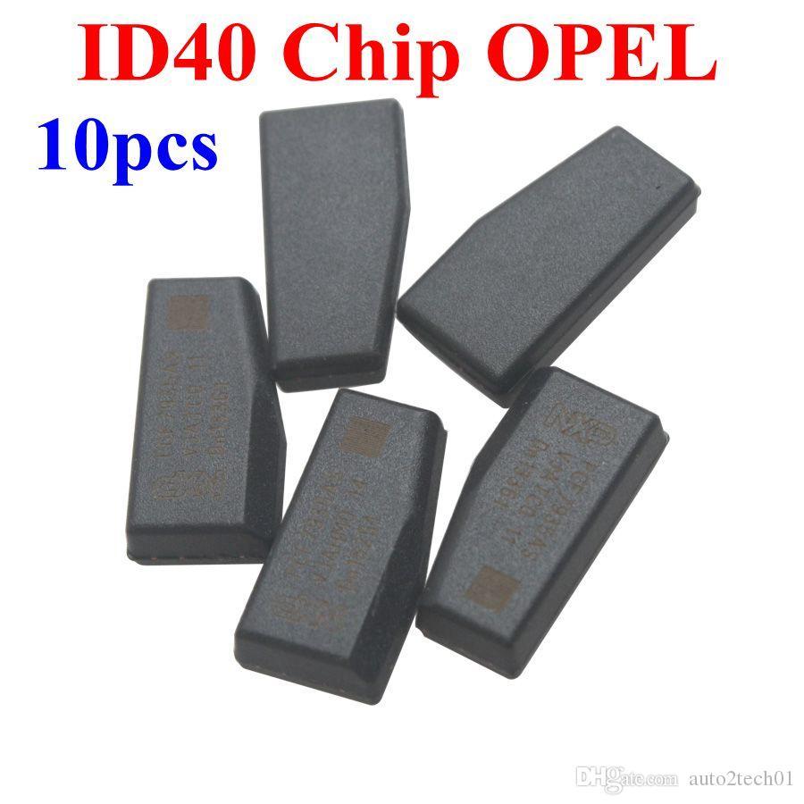 Prezzo di fabbrica! ID 40 Chip Transponder per OPEL lot Opel ID40 Transponder Chip di alta qualità 10pcs /