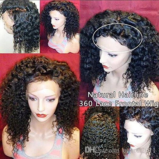 8A 360 Spitze Perücken für Schwarze Frauen Reines Haar Lace Front Perücken Menschliches Haar Glueless 360 Spitze Frontal Perücken (12 zoll mit 180%