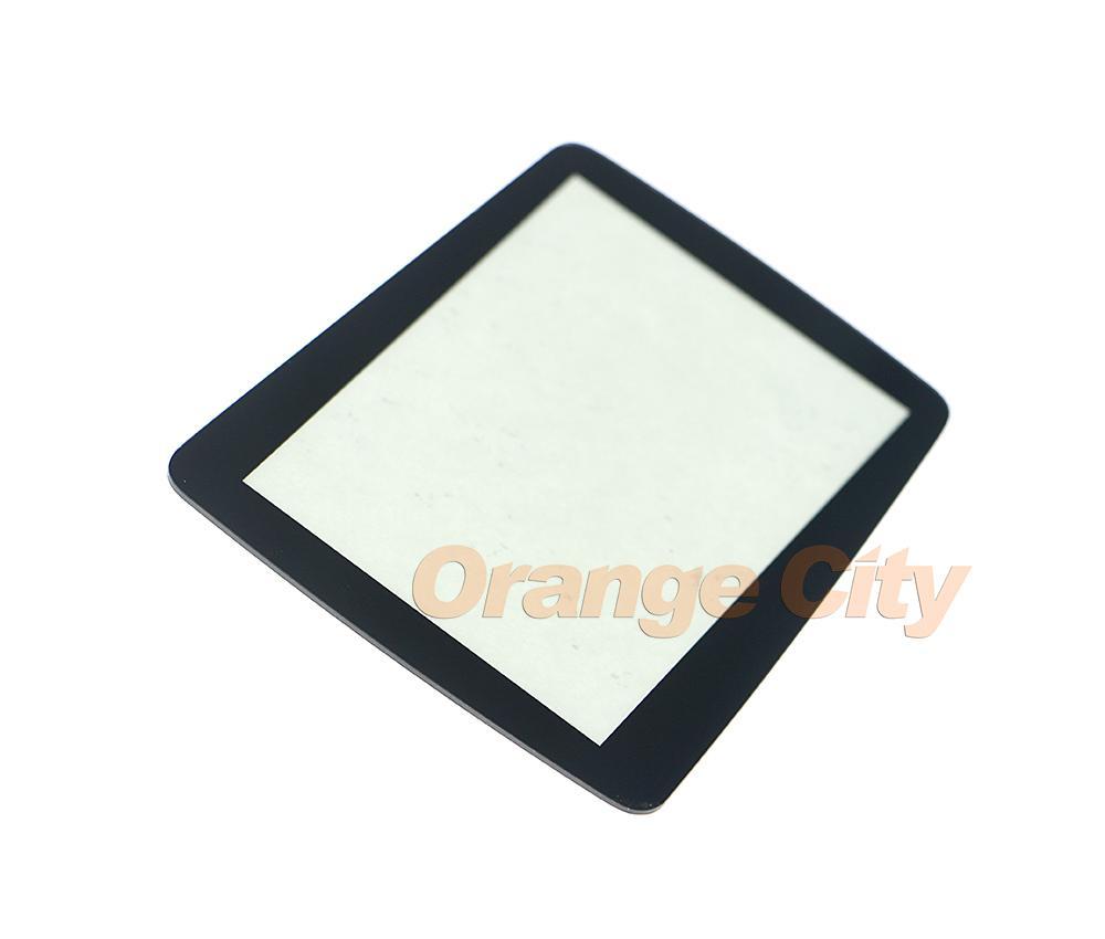 Substituição da peça de plástico tampa da tela protetora para sega nômade handheld console protetor de lente protetora tampa da lente para o avião gg