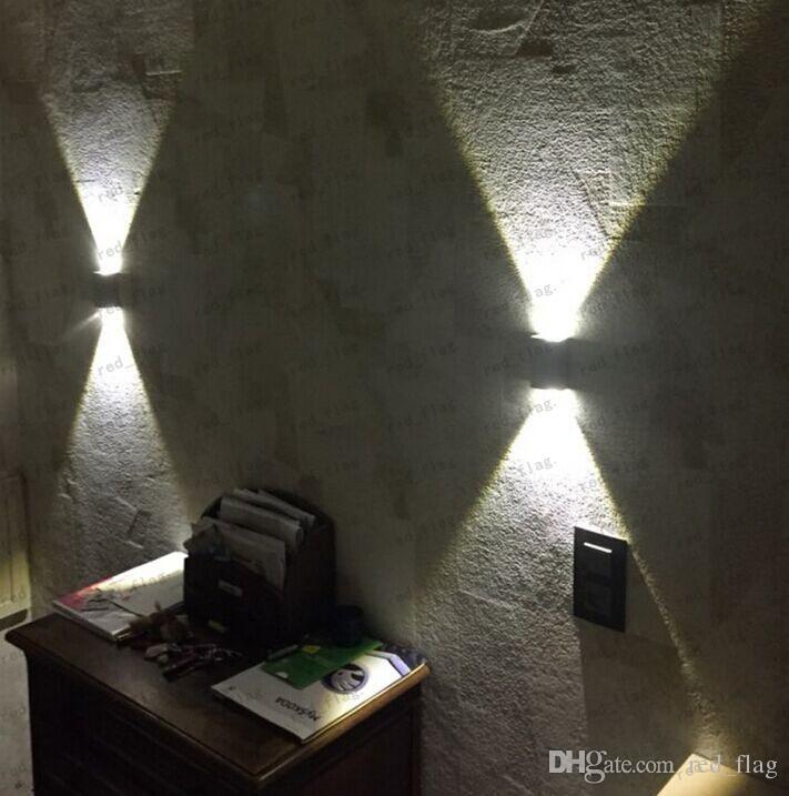 ... Tanbaby 2W Führte Wandleuchte Quadratische LED Spot Licht Aluminium  Moderne Haus Dekoration Licht Für