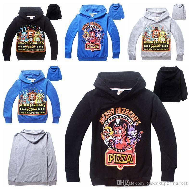 Five Night at Freddy Kids Chlidren Girls Boys Hoodies Jumper Sweater Tops