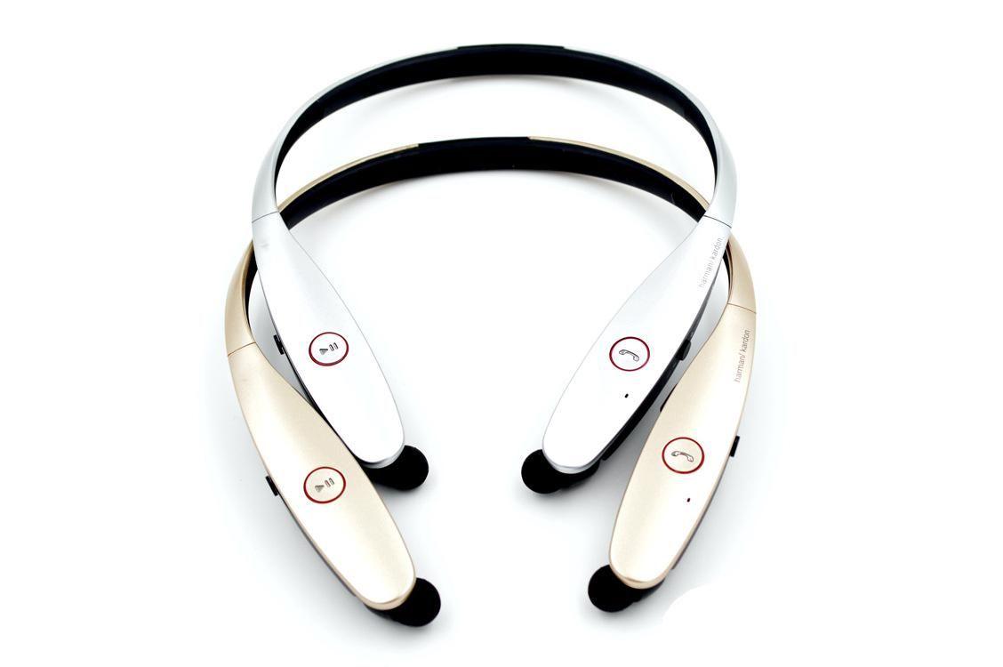 Neckband سماعة بلوتوث المحمولة الرياضة سماعة لاسلكية للهاتف مع هيئة التصنيع العسكري سماعة سماعة بلوتوث V4.0 HBS 900 سماعة رأس لاسلكية