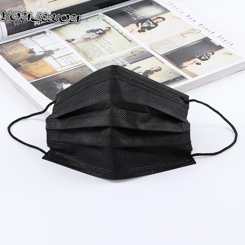 disposable mask black 50