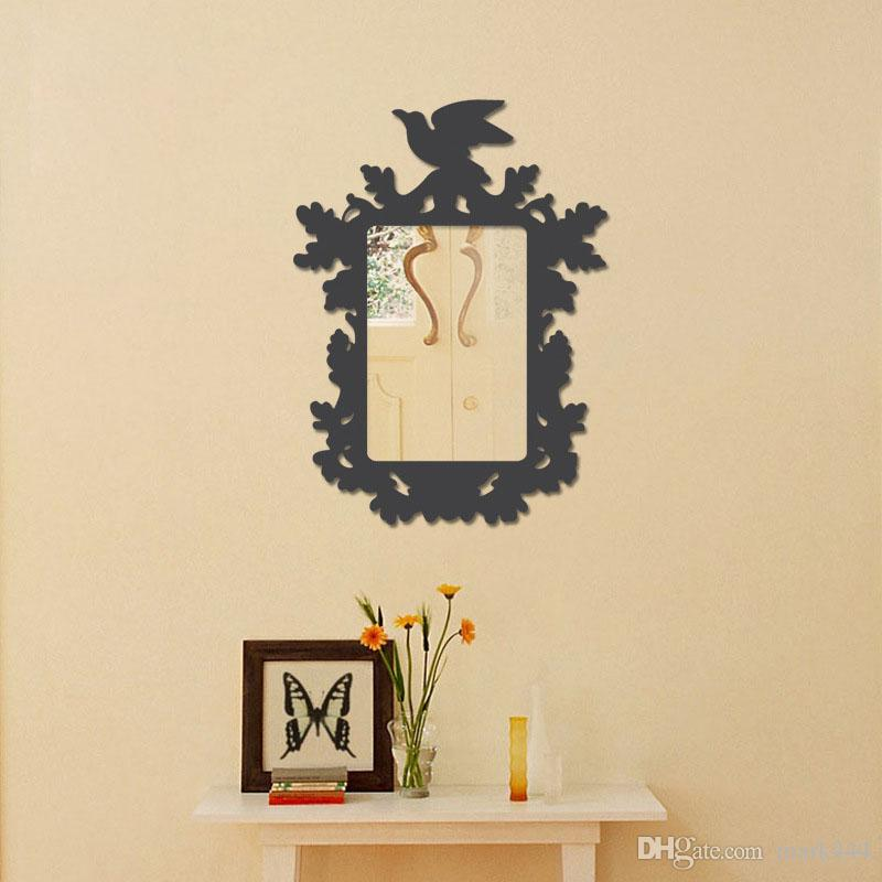 20*30cm Bird And Leaves Removeable Wall Stickers Decorative Wall ...