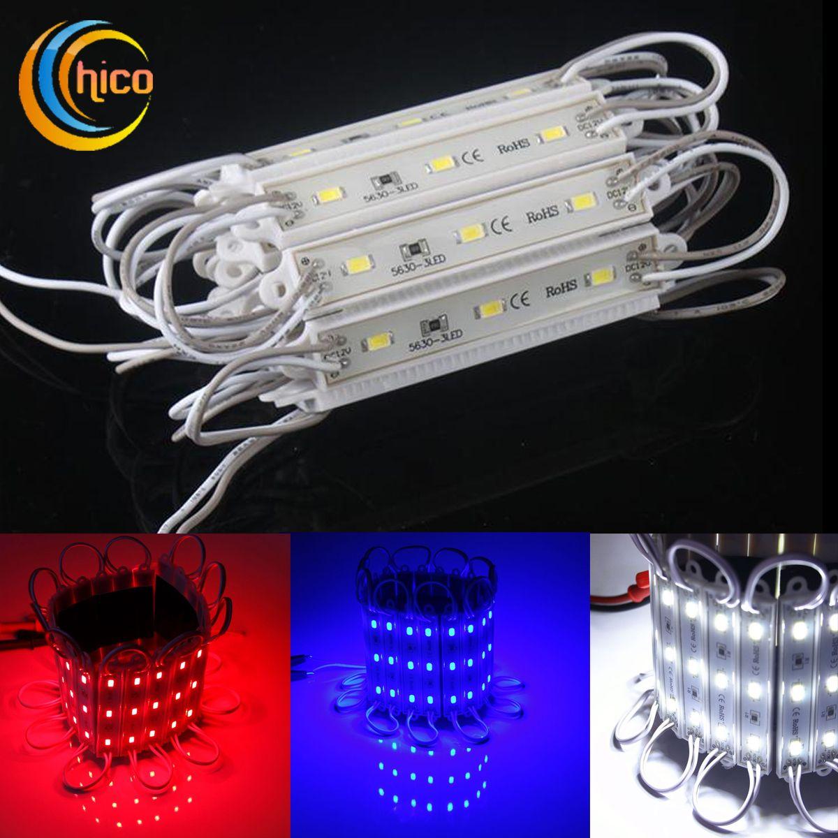 le module léger mené SMD 5730 3 le module de LED signalétique extérieur imperméable IP68 12V a mené des lettres de canal a mené des signes