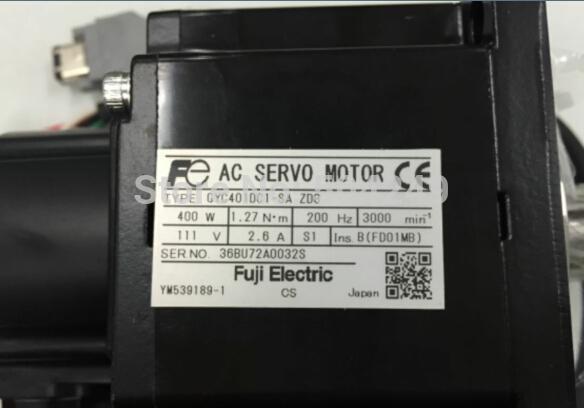 Servomotor AC GYC401DC1-SA, nuevo y original sin paquete original