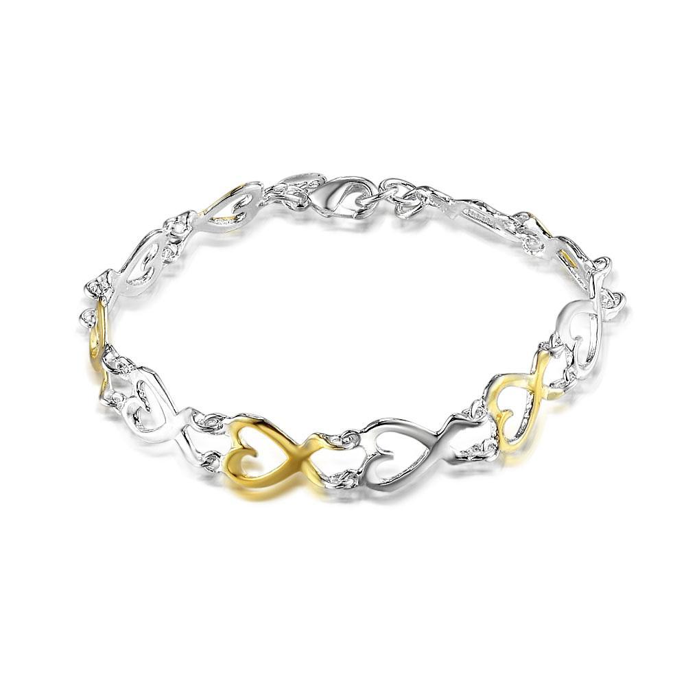 Fabbrica diretta all'ingrosso e al dettaglio 925 sterling silver colore doppio fuco gioielli in argento
