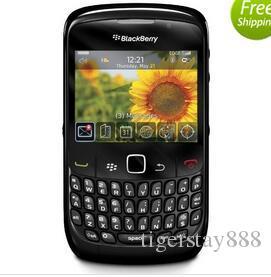Blackberry originale 8520 2.46 pollici 2MP Qwerty Keyboard WiFi 2G GSM Rinforzato telefono cellulare sbloccato