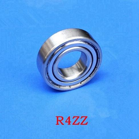 """100 pcs R4ZZ 6.35x15.875x4.98mm Rolamento Blindado 1/4 """"x5 / 8"""" x0.196 """"polegadas R4Z R4-ZZ rolamentos de esferas em miniatura 6.35 * 15.875 * 4.98"""