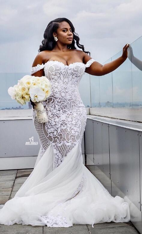 Lace Luxurious 2016 Arabic Plus Size Wedding Dresses Sweetheart ...