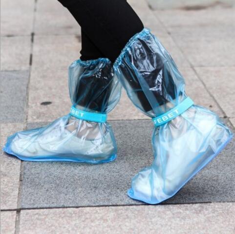 Neu Kommen Outdoor Lange Stil Regenmantel Set Zyklus Regen Stiefel Überschuhe Regenstiefel Travel Essentials Hochwertige Wasserdichte Regen Schuhe Abdeckung