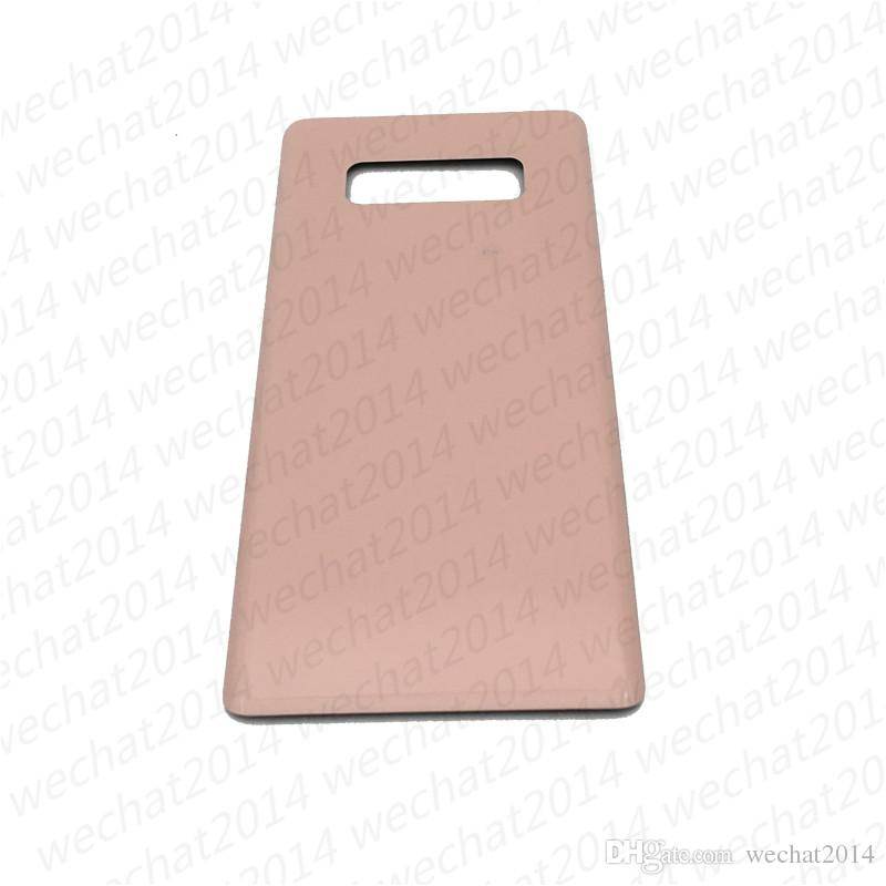 100PCS Battery Door Back Housing Cover Glass Cover for Samsung Galaxy Note 8 N950 N950A N950F with Adhesive Sticker