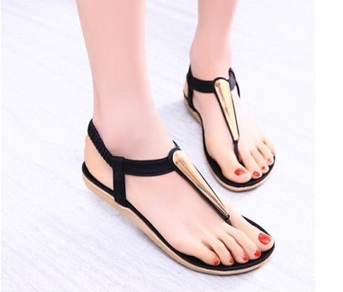 2016 novas sandálias Moda sapatos de verão mulher mulheres sandália para as mulheres apartamentos chinelos Bombas Cunhas sandália mulheres menina praia