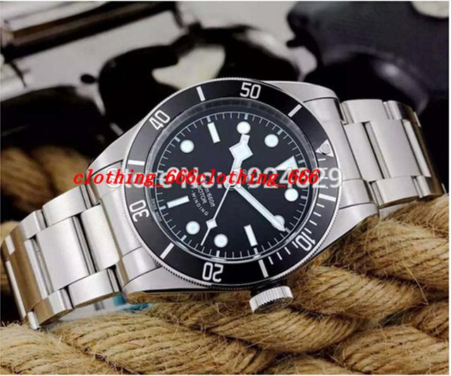 Luxury Men Watches Top Orologio da uomo super luminoso di alta qualità 2824 Movimento automatico quadrante nero Bracciale in acciaio inossidabile