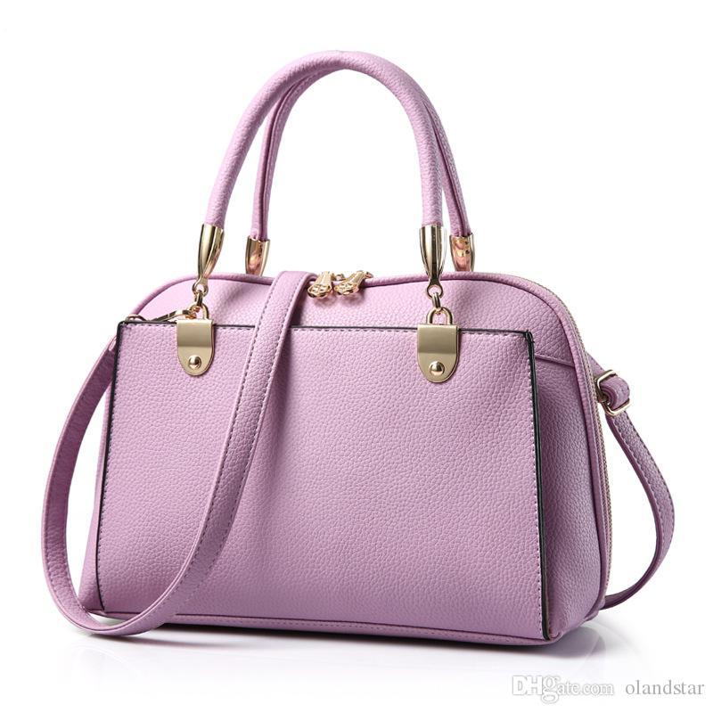 Venta al por mayor 11 colores caliente de la PU de cuero bolso de embrague de las mujeres Hobo monedero hombro cruz bolsas del cuerpo Lady Sling Bag Totes GLB077