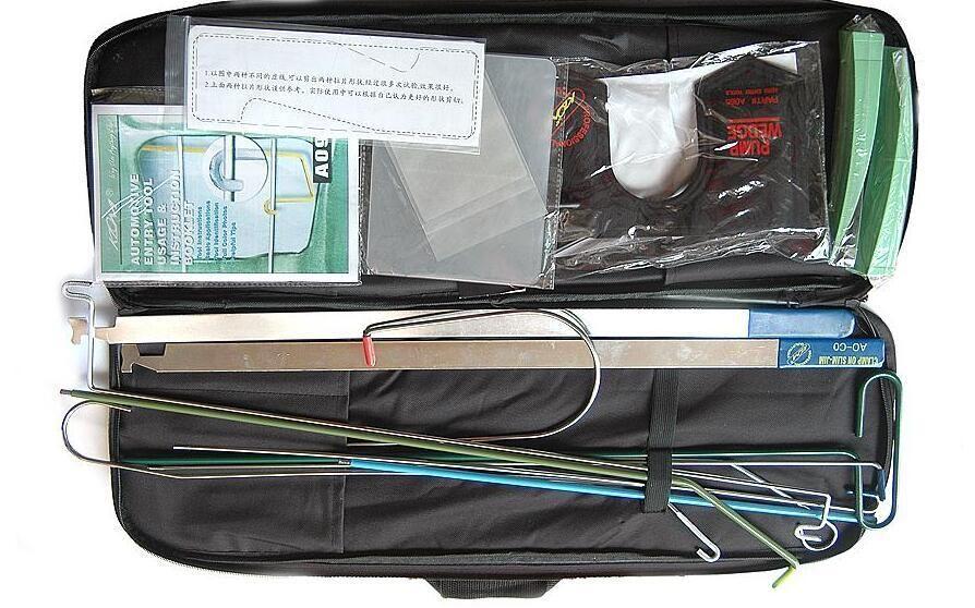 KLOM Auto Quick Open Kit cross pick отмычка пистолет key reader отмычка набор разблокировки инструмент слесарь инструмент open reader