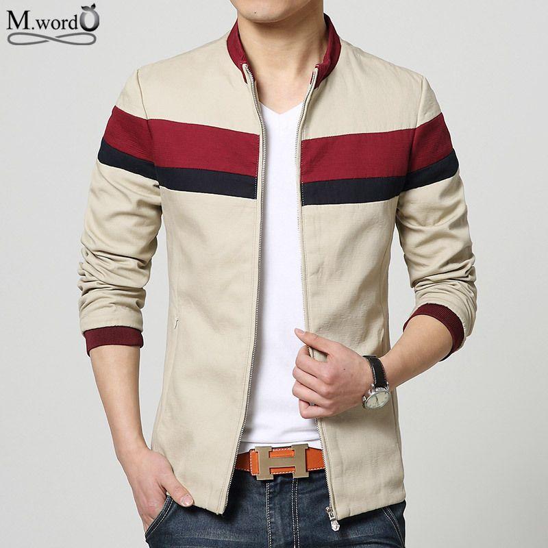 Chrismas gif! Qualitätsmarke korea neuen zufälligen Männer Jacken dünner Sitzmantel männlichen Sport Baumwolljacke Spleiß Jackenmantel Männer casacas de marca