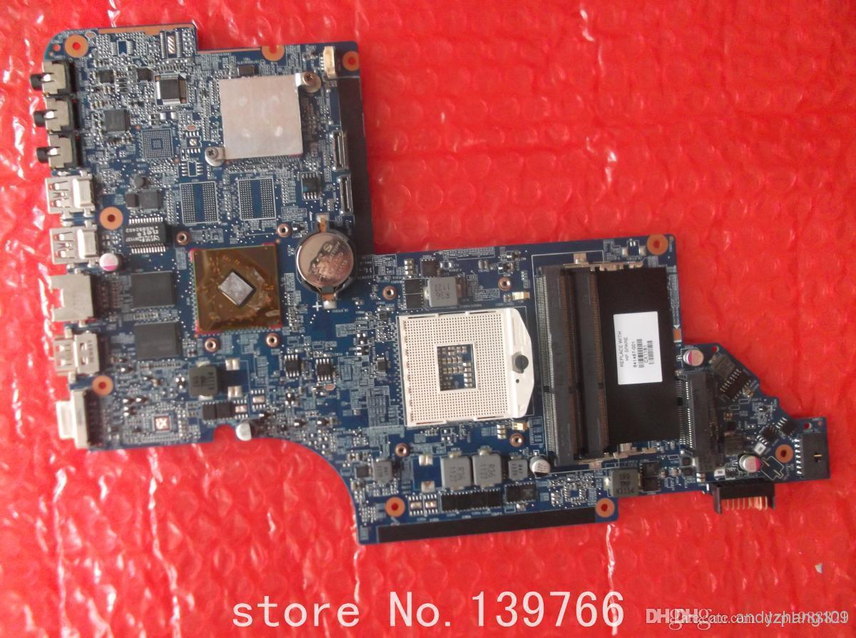 641487-001 scheda madre per HP Pavilion DV6 DV6-6000 laptop con chipset Intel DDR3 HM65 HD6490 / 1G DUO U2