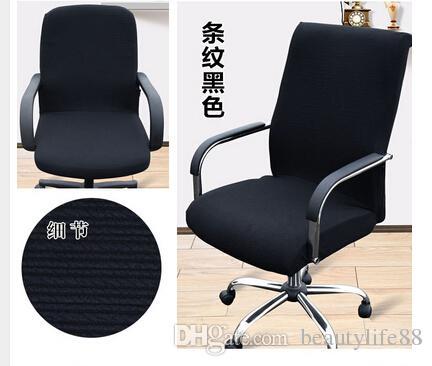 حجم كبير مكتب الكمبيوتر كرسي غطاء الجانب سستة تصميم ذراع كرسي غطاء كرسي استرجاع كرسي تمتد الدورية رفع غطاء كرسي