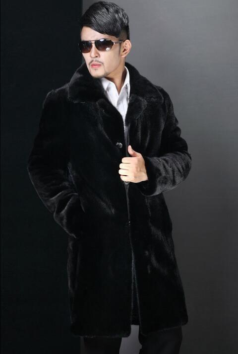 De Invierno Abrigos De Hombre Compre De Piel Visón Abrigos Para y8n0mNvOw