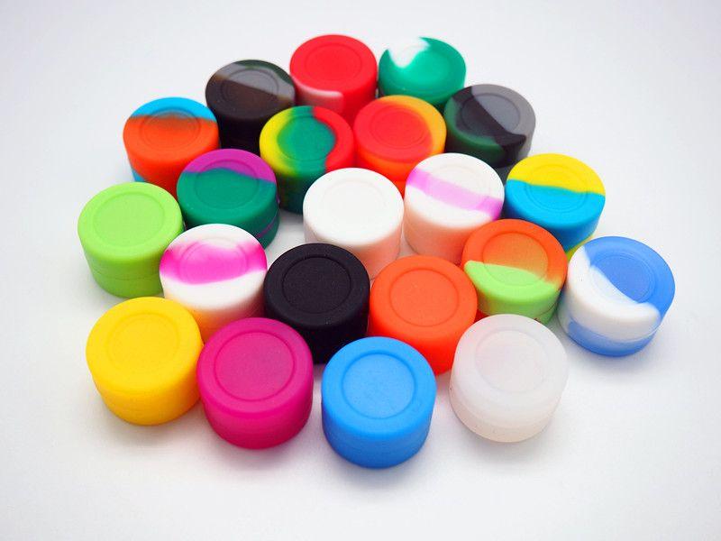 contenitori antiaderenti del silicone del commestibile Contenitore antiaderante del silicone di vendita calda per la vasca di cera del bastone del concentrato