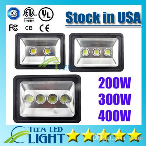 CE RoHS Super bright Led Floodlight 85-265V 200W 300W 400W led Outdoor LED Flood light lamp waterproof LED Tunnel lights street lighting