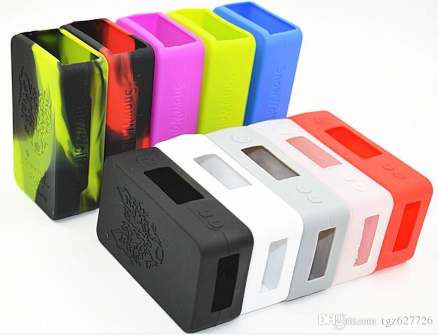 Электронный Дым Силиконовый Рукав Новый Горячий Контактный Защитный Чехол Многоцветный