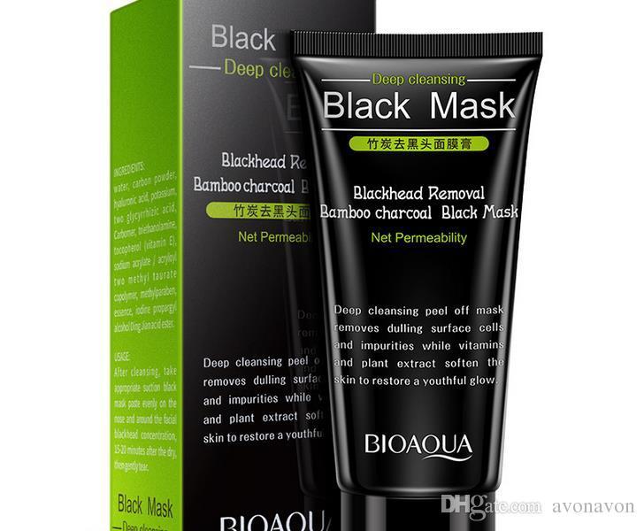 2017 Siyah Emme Maske BIOAOUA 50 ml SHILLS Derin Temizleyici arındırıcı soyulabilir Siyah yüz maskesi Kaldırmak siyah nokta Soyma Maskeleri B265