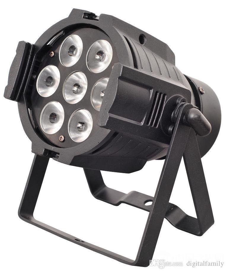 10*7W Led Par Light RGBM 70W LED Effect Light Stage Light DMX 512 Control 8CH Par Lights DMX 512 Disco DJ Party lamps 2pcs