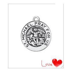 10pcs-ST-saint-Michael-pray-for-us-religious-wholesale-charm