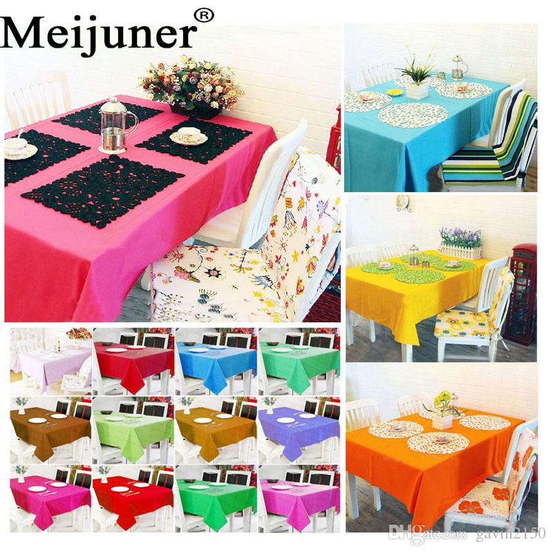 Hot Sale Custom Polyester White Square Table Cloth Wedding Tablecloth Party Table Cover Dining Table Linen Rectangular Wholesale Table Linens