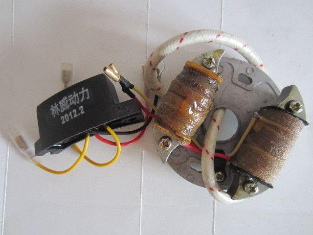 Bobina del modulo di accensione con condensatore per Motosega 78 7800 YD78 YD81 spedizione gratuita