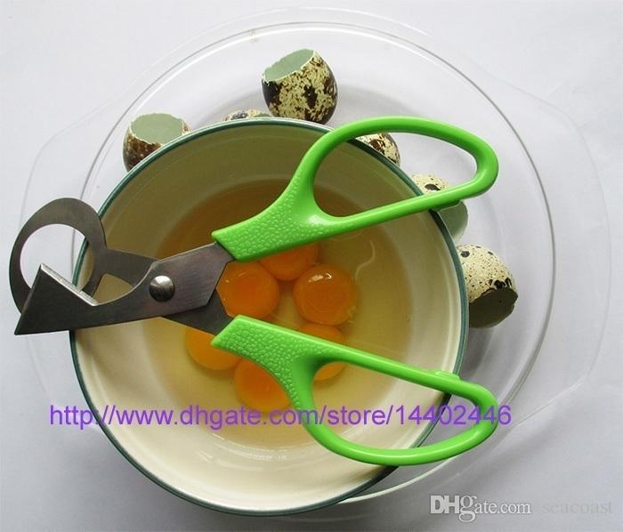 100 stücke Wachtel Schere Eierschneider Eier Öffner Wachteleier schere Eierschale Cracker Edelstahl Klinge Küchenwerkzeuge