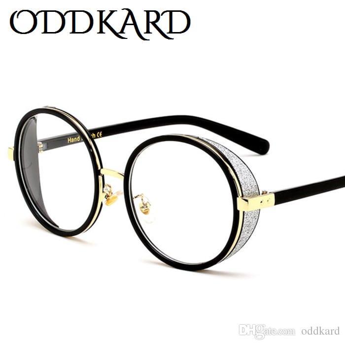 Oddkard الأزياء الفاخرة الكريستال النظارات الشمسية للرجال والنساء العلامة التجارية مصمم أنيقة جولة نظارات الشمس oculos دي سول uv400