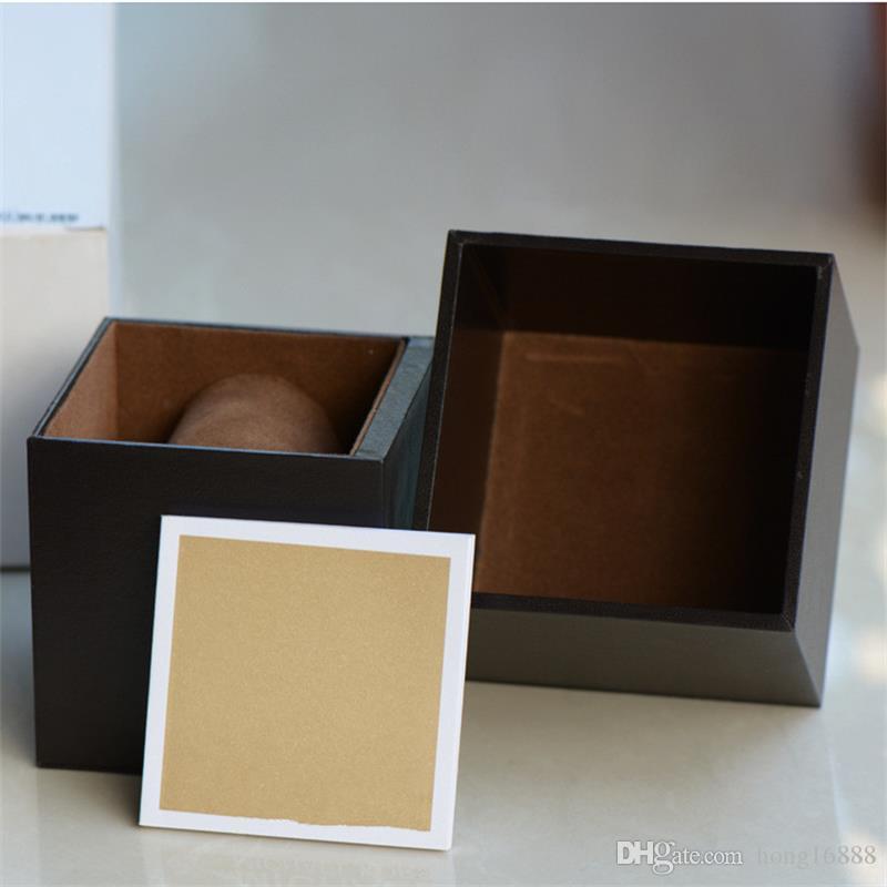 Caixa de Relógios de Alta Qualidade Apropriado para pacote de Luxo Caixa de Relógios, caixa de Relógios De Luxo + Instruções Inglês, Atacado Frete Grátis