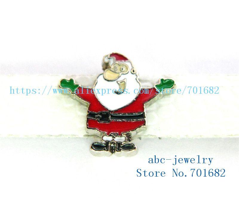 5pcs 8mm Navidad de Santa Claus ventas al por mayor llavero precio Dia.8mm interna cinturón de ajuste de 8 mm pulsera SL430 pulsera collar de perro
