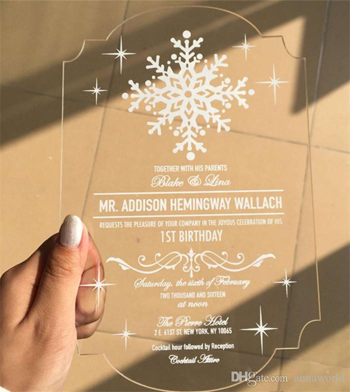 ... Customized Engraved Love Birds Invitation Cards With Envelope,Acrylic  Wedding Invitation Cards,free Ship ...