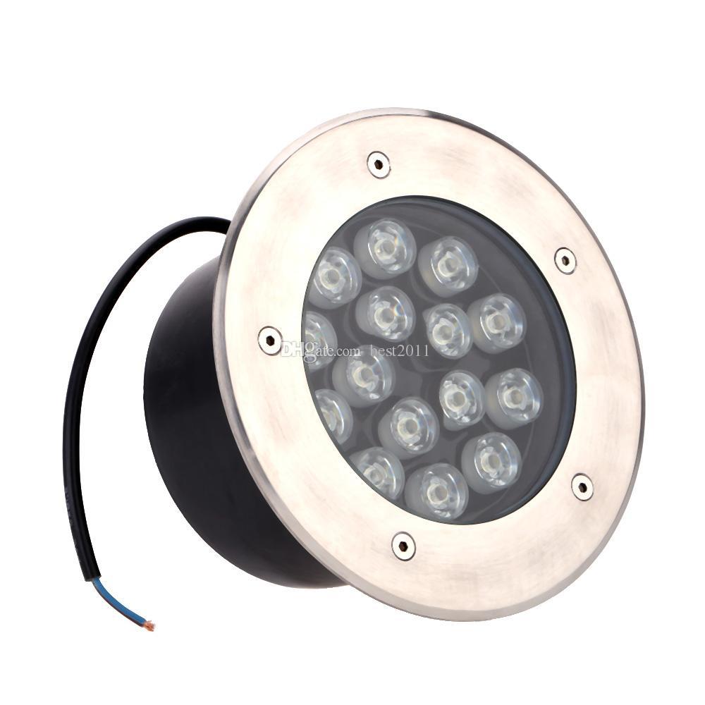 15W LED al aire libre Planta Planta Jardín subterráneamente enterrada punto de la lámpara de luz del paisaje de la CA 85-265V IP67