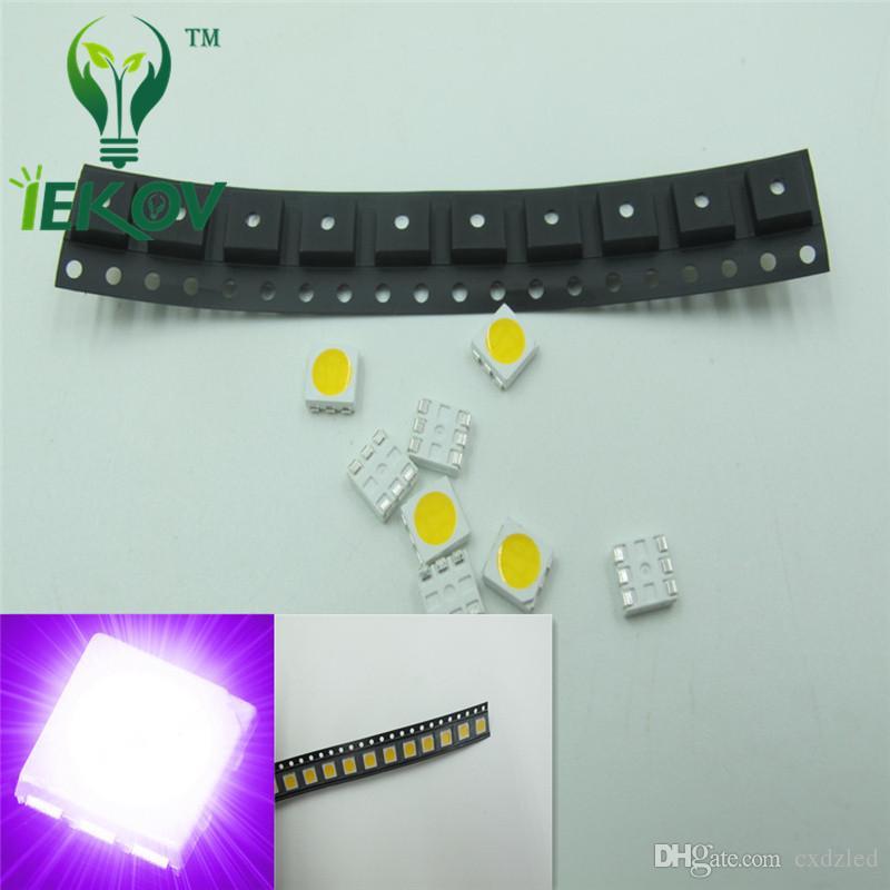 1000PCS x SMD SMT 0805 LED SMD//SMT light UV Purple