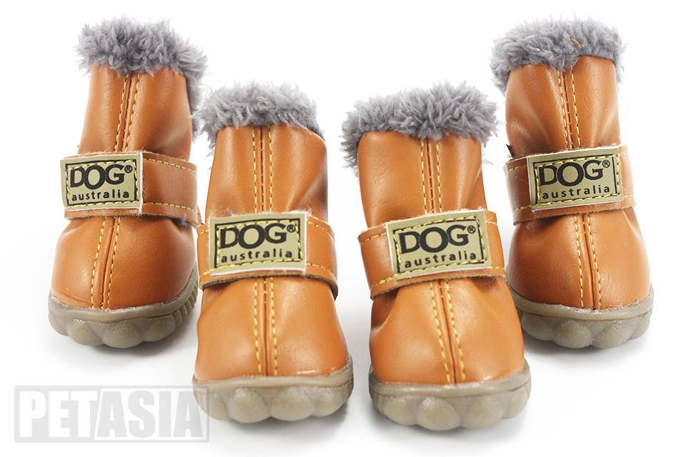 PETASIA Pet Dog Shoes Winter 4pcs set Small Medium Dogs Boots Cotton Waterproof Anti Slip XS XL Shoes for Pet Product ChiHuaHua select_960px colors brown 2