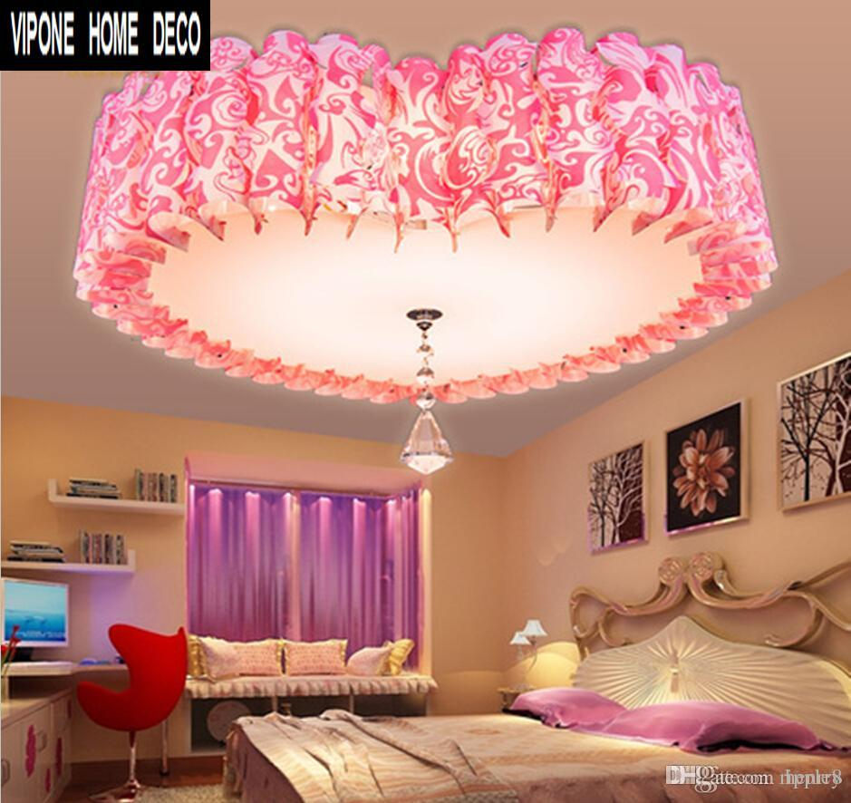 2019 Ceiling Lights Love Fashion Pink. Bedroom Romantic Heart Shaped Pvc  Lighting Fixtures. Heart Marriage Room Lights From Ripple8, $25.13 | ...