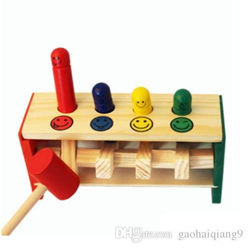 Pädagogisches hölzernes Mathespielzeug für Kinder 3 Jahre alt scherzt Mathematik montessori Pädagogisches Spielzeugkleinkind-Babyspielzeug